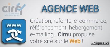 Création, refonte, e-commerce, référencement, hébergement, e-mailing...Cirnu propulse votre site sur le web !